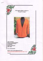 Clair Crowston Lightweight Cardigan No. 90.